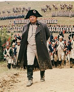 Napoleon (Rod Steiger) and his compliment of a mere 1,000 soldiers escapes the island of Elba and makes right for Paris, in the great film, WATERLOO (1970)