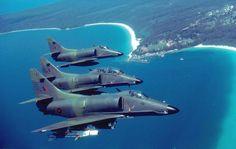 RNZAF A4 SkyHawk's