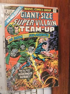 Dr. Doom and Submariner Giant-Sized (Annual sized) comic book from graphic-illusion.com