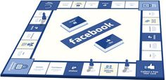 To encourage people to interact in real life, designer Pat C. Klein has made a Monopoly-styled board game based on social networking site. Story Cubes, Facebook Messenger Games, Fun Games, Games To Play, Awesome Games, Monopoly, Google Play, Steam App, Social Networks