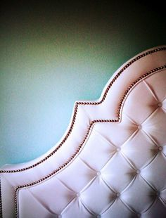 Custom tufted bed- Room Service Store