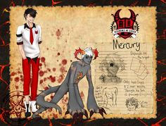 Mercury (Not using in group anymore) by Squidelyfish.deviantart.com on @DeviantArt