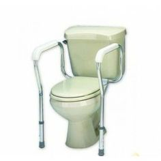 White Toilet Safety Frame - Price ( MSRP: $ 68Your Price: $43.84Save up to 36% ).