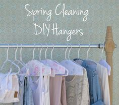 Do it Yourself Hangers from The Official Shabby Chic Fan Page