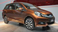 2015 Honda Mobilio Background  High Quality Photo