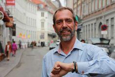 Jon Lund, IT-blogger og ansvarlig for online communication hos Danske Bank. (Fotograferet til Samdata Magasinet.)