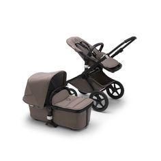 Baby Transport, Peek A Boo, Sun Canopy, Lift And Carry, Black Wheels, Donkey, Black Fabric, Innovation Design, Buffalo
