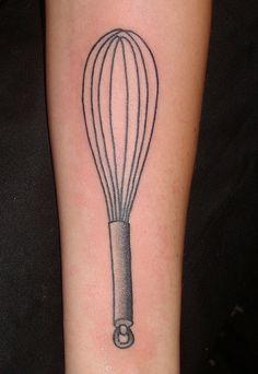 Whisk behind the ear?