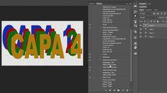 [627] Atajos de teclado para mover y seleccionar capas en Photoshop (2/2)