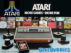 So many hours playing Atari. Space Invaders, Asteroids!