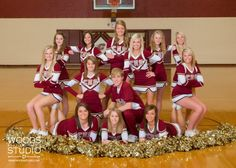 senior cheerleader portraits | Senior Cheerleader Bailey Royblot