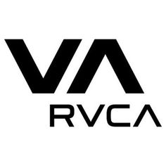 RVCA logo. Simple / clean. Wordmark incorporates logo which is a nice detail.