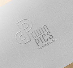 Twin Pics logotype by Kris