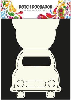 470.713.586 Dutch Doobadoo Card Art Auto