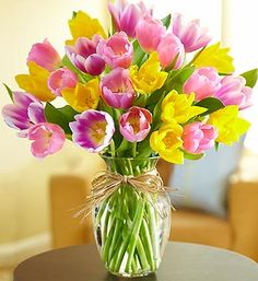 Tulips are one of the most popular spring flowers and our beautiful Timeless Tulips are in bloom and ready to brighten someone specials day, literally! Starting at just $49.99.