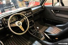 Beautiful Mk2 Golf interior
