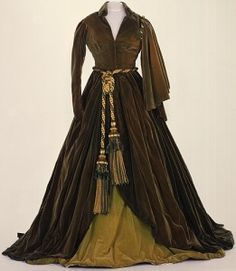 """The curatin dress now, faded. Still image from """"Gone With The Wind"""""""