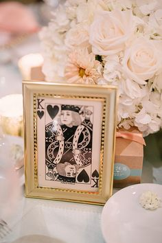 Same-Sex Spring Wedding in Atlanta, Georgia, Playing Card Table Numbers | Brides.com
