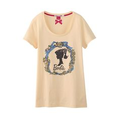 UNIQLO WOMEN Barbie SHORT SLEEVE GRAPHIC T
