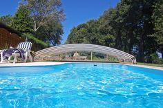 zastřešení bazénu IMPERIA udržuje vody v bazénu o mnoho čistější