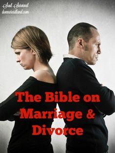 """The Bible on Marriage & Divorce""  (8.25) #marriage #divorce #singleness"