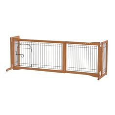 Topeakmart Adjustable Indoor Pet Fence Gate,Free Standing Dog Gate,Solid Wood Construction * You can get additional details at the image link. (This is an affiliate link and I receive a commission for the sales) Diy Dog Gate, Pet Gate, Diy Dog Fence, Pallet Fence, Freestanding Dog Gate, Pet Sitter, Baby Gates, Dog Gates, Fence Gates