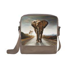 The Elephant Crossbody Nylon Bags (Model Nylon Bag, Backpacks, Model, Bags, Fashion, Handbags, Moda, Taschen