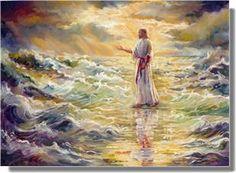Take courage It Is I, be not afraid. Matthew 14:27  (Sandra Rast)