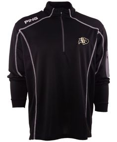 Ping Men's Colorado Buffaloes Ranger Half-Zip Jacket