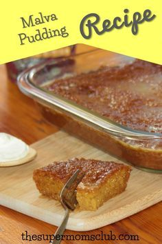 If you're looking for a malva pudding recipe baked like a pro, here it is! With a step by step guide to help you though, you'll be making it over and over! Milk Recipes, Tart Recipes, Pudding Recipes, Curry Recipes, Sweet Recipes, Baking Recipes, Dessert Recipes, South African Desserts, South African Recipes