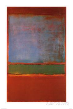Violett, Grün und Rot, 1951 Kunstdrucke von Mark Rothko - AllPosters.at