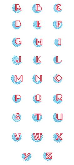 Festival Font & Initials on Typography Served
