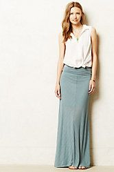 Shadow Stripe Maxi Skirt