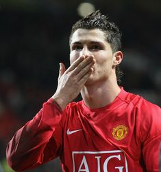 Cristiano Ronaldo of Manchester United celebrates at the end of the Barclays FA Premier League match between Manchester United and Newcastle United at Old Trafford on January 12 in Manchester,. Get premium, high resolution news photos at Getty Images Cr7 Ronaldo, Cristiano Ronaldo 7, Cristiano Ronaldo Wallpapers, Baseball Guys, Manchester United, Manchester England, Soccer Stars, Premier League Matches, Old Trafford