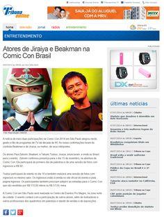 Atores de Jiraiya e Beakman na Comic Con Brasil