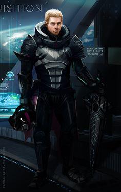 Commander Cullen of the Inquisition Fleet by jennytan on DeviantArt