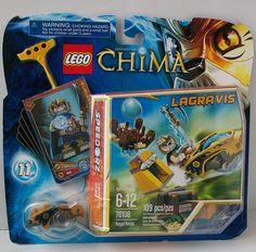 LEGO Legends of CHIMA Lion LAGRAVIS Royal Roost Speedorz Set 70108 Minifig #LEGO