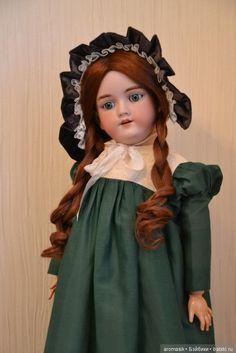 Антикварная кукла от Heinrich Handwerck, молд 119 / Антикварные куклы, реплики / Шопик. Продать купить куклу / Бэйбики. Куклы фото. Одежда для кукол