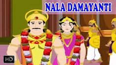 Nala Damayanti - Short Stories from Mahabharata - Animated Stories for C...