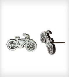 Bike Stud Earrings