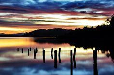 Sunrise in Bariloche by Guillermo Palavecino, via 500px