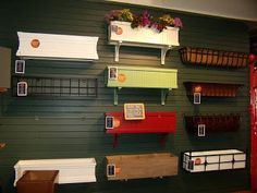 luv decorating: Dressing up your WINDOW with Flowers  Window shelf with plants is to be checked out ♥