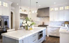 The Kitchen We're Crushing on Right Now features a beautiful kitchen remodel and design of all the updates one wants and needs. See this amazing design!
