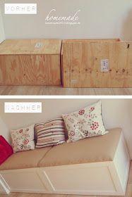 ♥ homemade ♥: Sitzbank DIY