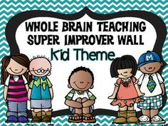 Super Improver Wall Level Headers Kid Theme free from TPT