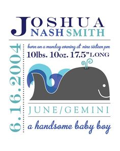 Baby Boy Nursery Decor by midmeetswest on Etsy, $25.00