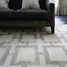 Katherine Carnaby Eaton Rugs in Steel - Free UK Delivery - The Rug Seller