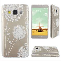 Asnlove para Samsung Galaxy A3 Carcasa Funda Gel TPU Silicona Transparente Ultrafino Flexible Tapa Trasera de Telefono-Diente de leon blanco Asnlove http://www.amazon.es/dp/B0140SHZ1Y/ref=cm_sw_r_pi_dp_x9-Cwb1D2T1AF
