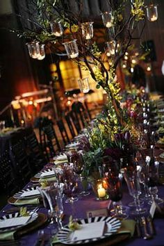 "San Francisco-based Events of Distinction is honored at The Special Event 2010 for this ""Spice of Life"" wedding, celebrating the different cultures of the bride and groom. Vivid hues including plum, copper and tangerine spice up decor."