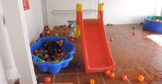 These dogs playing in a ball pit will make your day